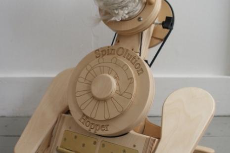 Hopper Travel Wheel (front view)