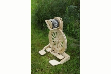 Monarch Spinning Wheel, Spin Any Yarn, Art Yarn, Lace Yarn