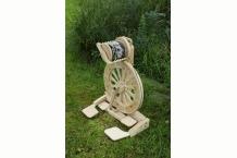 Monarch Spinning Wheel, Spin Any Yarn, Art Yarn, Lace Yarn