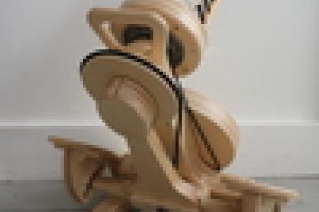Hopper Travel Wheel (back view)