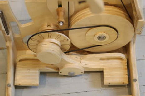 accelerated Wheel, folding wheel, Spin Any size Yarn